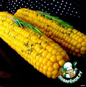 Рецепт Кукуруза в ароматическом масле