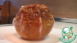 Рецепт Печеные яблоки с вареньем