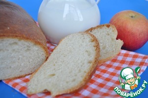 Рецепт Ахлоридный (безсолевой) хлеб