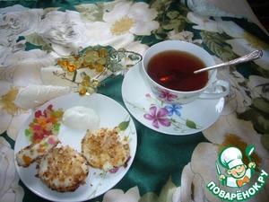 Рецепт Творожные сладкие зразы по-алма-атински