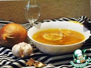 Рецепт Солянка из горбуши с лимоном и каперсами