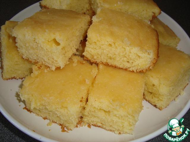 рецепты легких пирожных