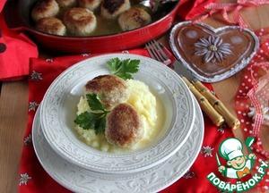 Рецепт Шницель рубленный по-австрийски