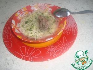 Рецепт Суп-лапша из гуся в МВ