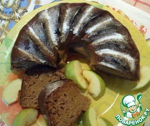 """Рецепт Яблочный кекс """"Облачко"""""""