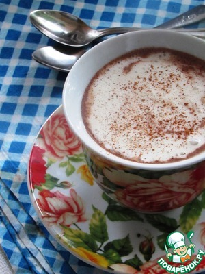"""Рецепт Кофейно-шоколадный напиток """"Кофе-шок"""""""