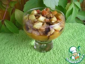 Рецепт Тушеные овощи и чечевица