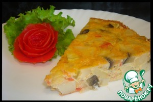Рецепт Овощная тортилья