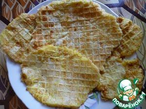 Рецепт Кабачковые вафли