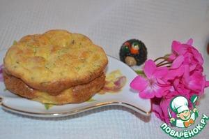 Рецепт Суфле из цукини с рикоттой