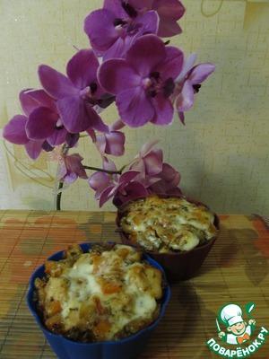 Рецепт Запеченное мясо с картофелем