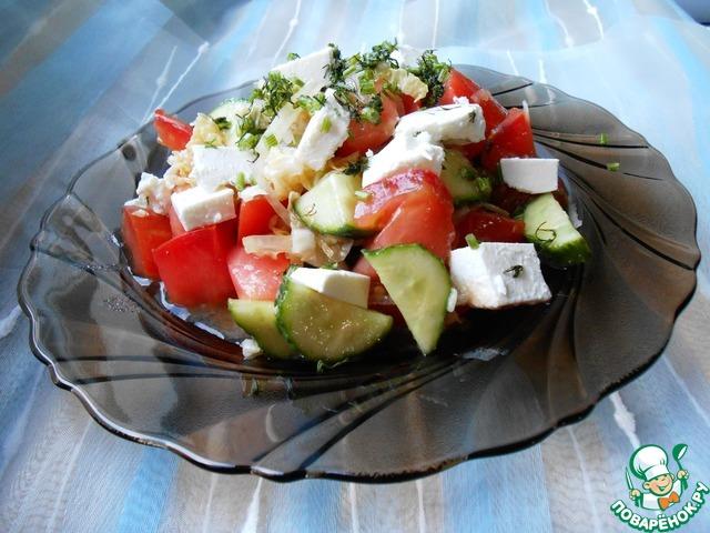 Салат греческий рецепты с фото поваренок