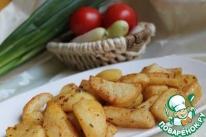 Рецепт Запеченный картофель по-турецки