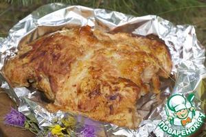 Рецепт Запеченное мясо для ленивого пикника