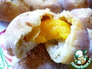 Рецепт Булочки из фруктового пюре, которым сынуля поделился с мамой