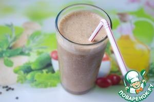 Рецепт Какао-банан-кофе смузи