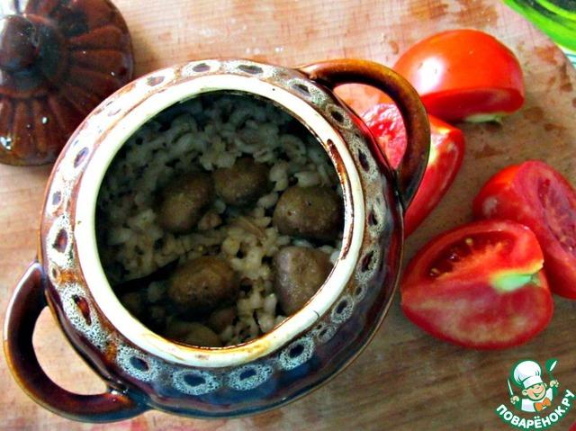 перловка в горшочках рецепты с фото