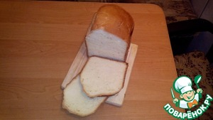 Рецепт Хлеб на молоке от Борисыча