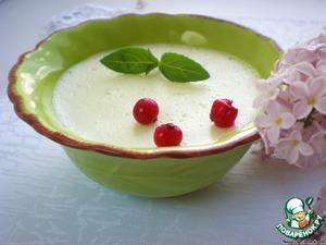 Рецепт Воздушный сметанный десерт