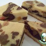 Мраморное пирожное «olmora»