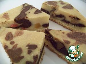 Рецепт Мраморное пирожное «olmora»