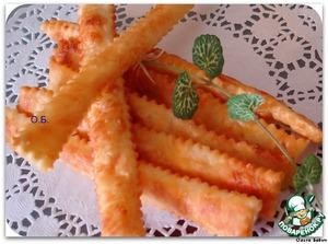 Рецепт: Сырные палочки за 15 минут
