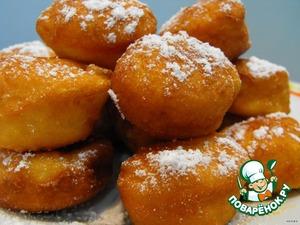 Рецепт: Пончики для моей дочери