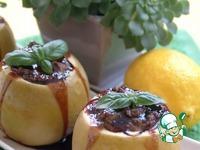 Яблоки с куриным паштетом и ежевикой ингредиенты