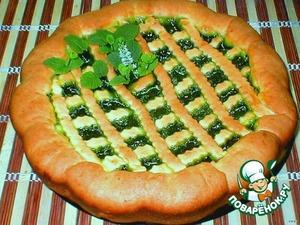 Рецепт Изумрудный творожный пирог