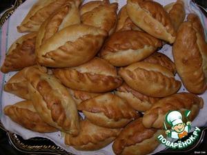 Рецепт: Пирожки любимые бабушкины с капустой