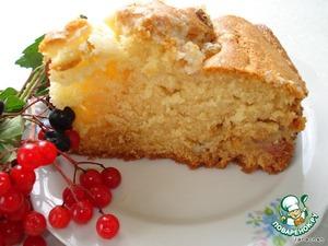 Рецепт Американский сметанный пирог к кофе