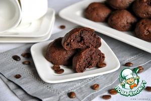 Рецепт Печенье мокка-трюфель