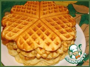 Рецепт: Бельгийские вафли
