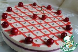 Рецепт Ягодно-творожный торт