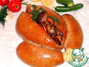 """Рецепт Хлеб """"Фальшивая индейка"""""""