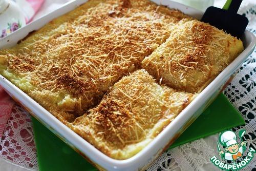 рецепт картофельное пюре запеченное в духовке рецепт