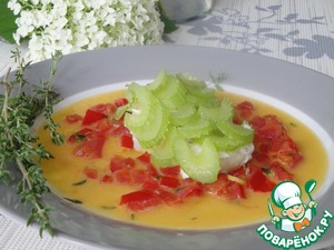 Рецепт Рыба с селдереем и томатным соусом