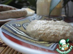 Рецепт Горчица из перетертых зерен