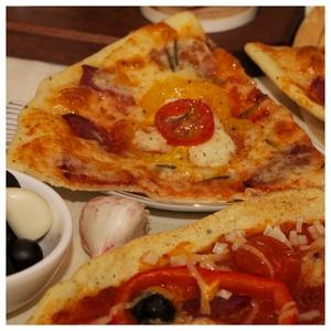 Рецепт Пицца с моцареллой и сладким соусом чили