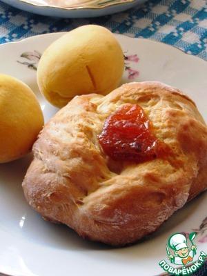 Рецепт Булочки с абрикосами