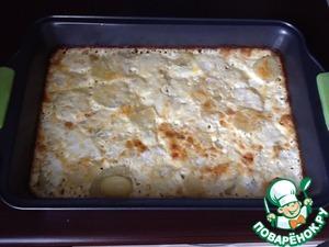 Рецепт Картофель, запеченный с молоком и сыром