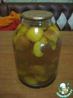 Рецепт Компот из персиков на зиму