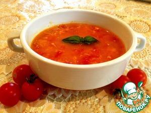 Рецепт Летний томатный супчик