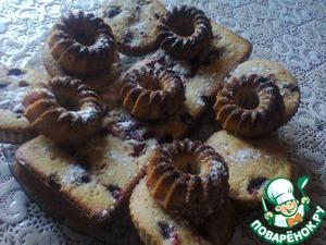 Рецепт Кексы с ягодами