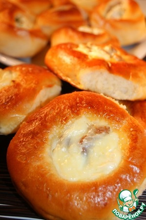 Рецепт Ватрушки сладкие и соленые
