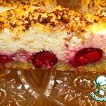 Творожная запеканка-пирог