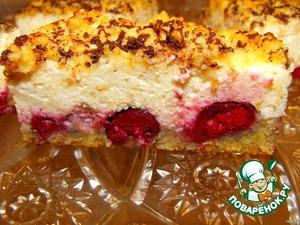 Рецепт Творожная запеканка-пирог
