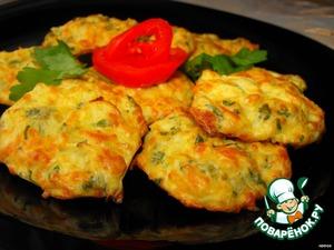 Рецепт Капустные оладьи с сыром
