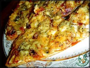 Рецепт Пицца из «хрущевского теста»