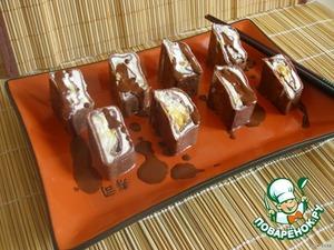 Рецепт Шоколадные роллы «Черный самурай»